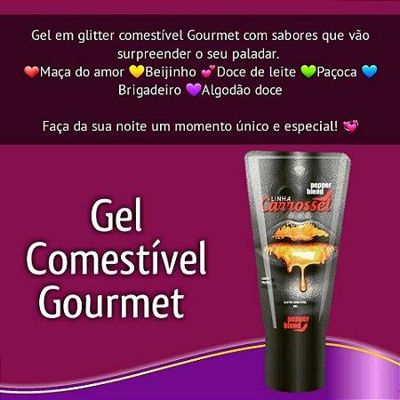 Gel Carrossel Glitter COMESTÍVEL
