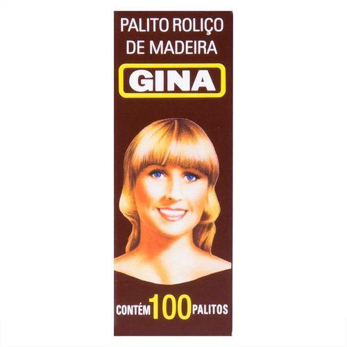 Palito Roliço de Madeira Gina 200und