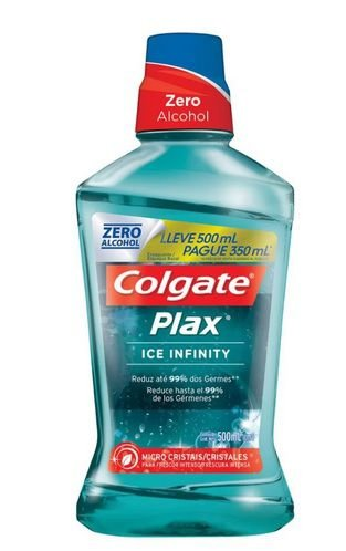Enxaguante Bucal Colgate Plax Ice 350ml
