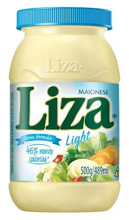 Maionese Liza Light 500g