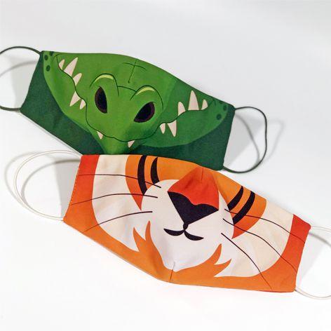 Máscara Infantil WILD - Pack 02 unidades