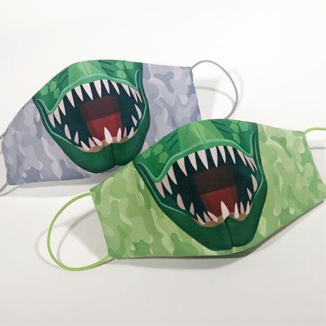 Máscara Infantil DINNO - Pack 02 unidades