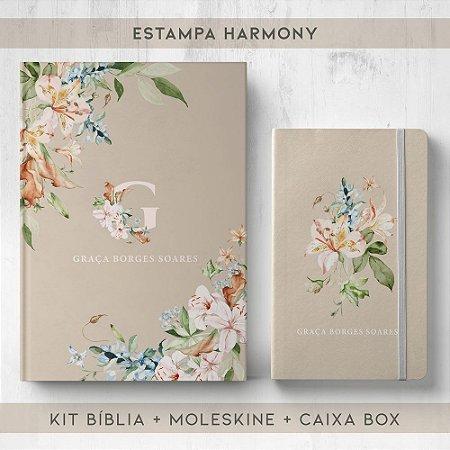 BIBLIA + MOLESKINE + BOX  - HARMONY