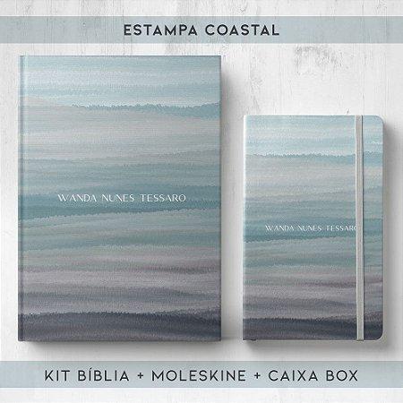 BIBLIA + MOLESKINE + BOX  - COASTAL