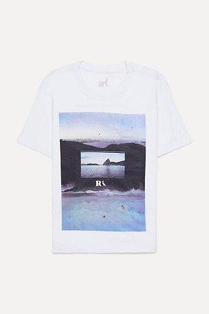 Camiseta Mini Estampada Drone Vistas