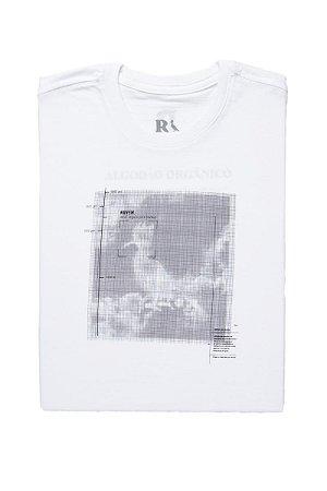 Camiseta Mini Estampada Nuvens