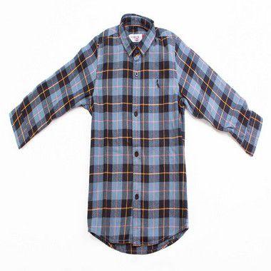 Camisa Mini Flanela Xadrez