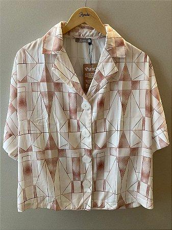 Camisa Manga Curta Vértice Adulto