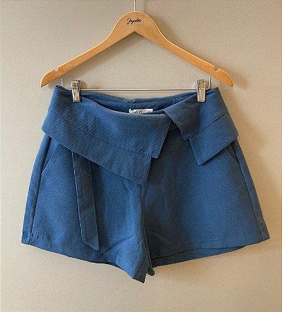 Shorts Mais Um Adulto Deminino Azul