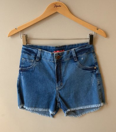 Shorts Feminino Desfiado