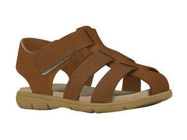 Sandália Infantil Bibi Basic Sandals Masculino Caramelo