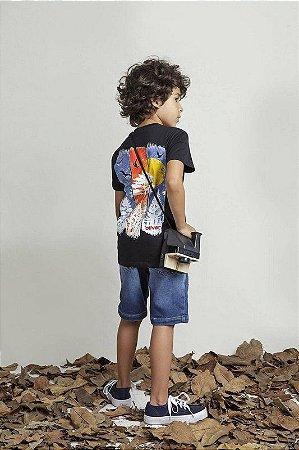 T-shirt Com Silk Pinheiros Manga Longa