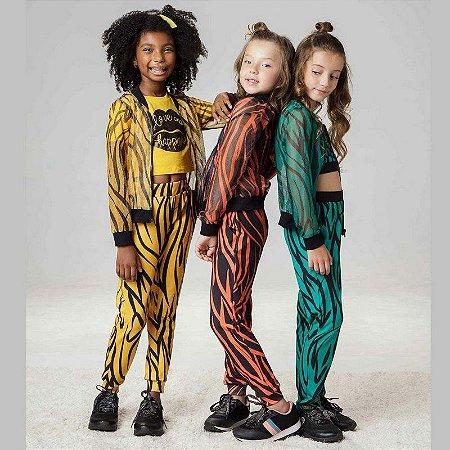 Jaqueta Estampada Animal Print