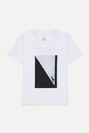 Camiseta Mini Estampada Pombo Solo