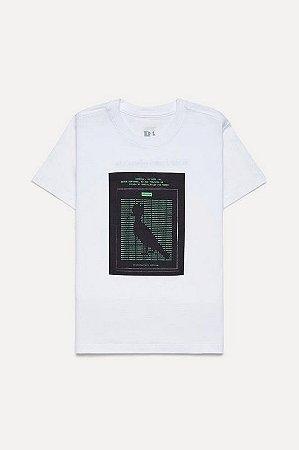 Camiseta Mini Estampada Binario