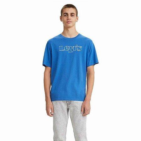 Camiseta Masculina Manga Curta Adulto Levi`s