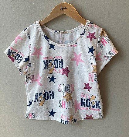 Cropeed Infantil Estrelas