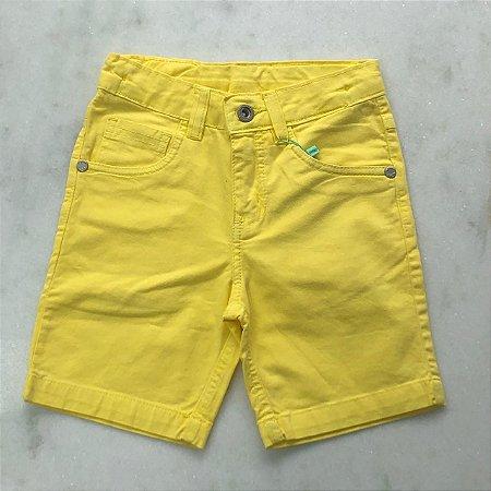 Bermuda Infantil Masculino Five Pockets com Elastano Ice Color