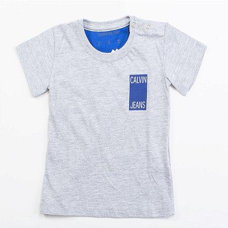 Camiseta Bebê Masculino Calvin Klein