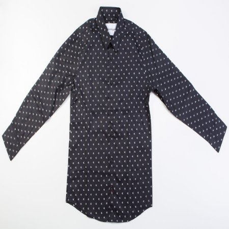 Camisa Infantil Masculino ML em Tecido Calvin Klein