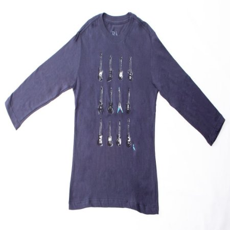 Camiseta Reserva Mini Silk Guitarras