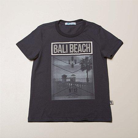 Camiseta Infantil Masculina Silk Bali Beach