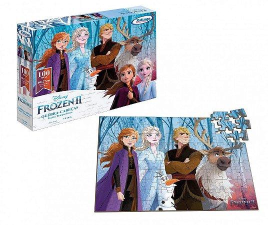 Quebra-Cabeça 100 Peças Frozen 2 Disney
