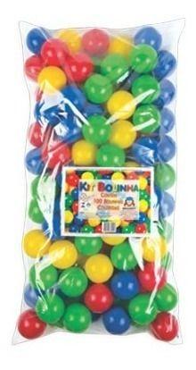 100 Bolinhas Coloridas Para Piscina Ou Toca