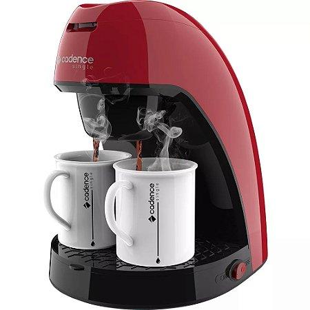 Cafeteira Cadence Single Vermelha CAF211