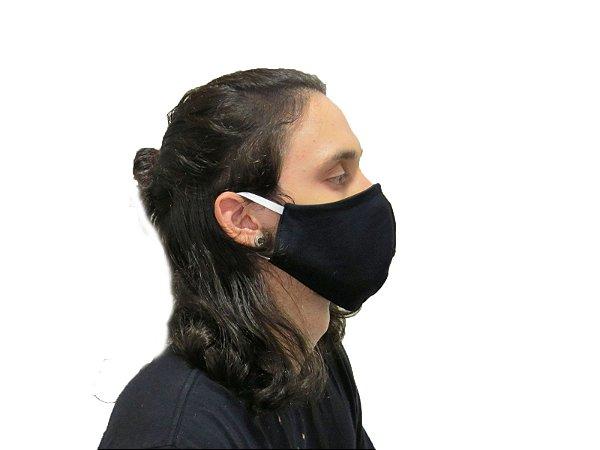 Máscara Dupla Camada Algodão com Poliéster - de Amarrar