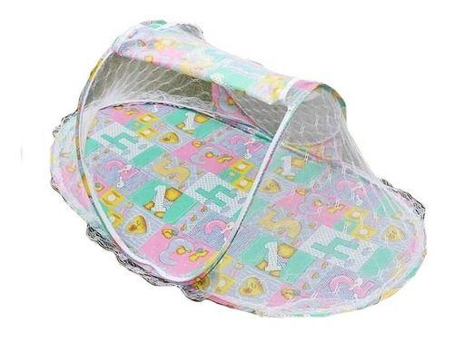 Mosquiteiro Portatil Mosqueteiro C/ Ziper Berço Bebê Tenda
