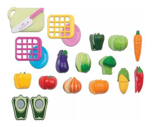 Hortifruti Legumes De Brinquedo Crec 18 Peças