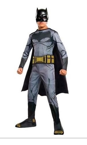 Fantasia Batman Clássica Dc Infantil Capa E Mascara Morcego