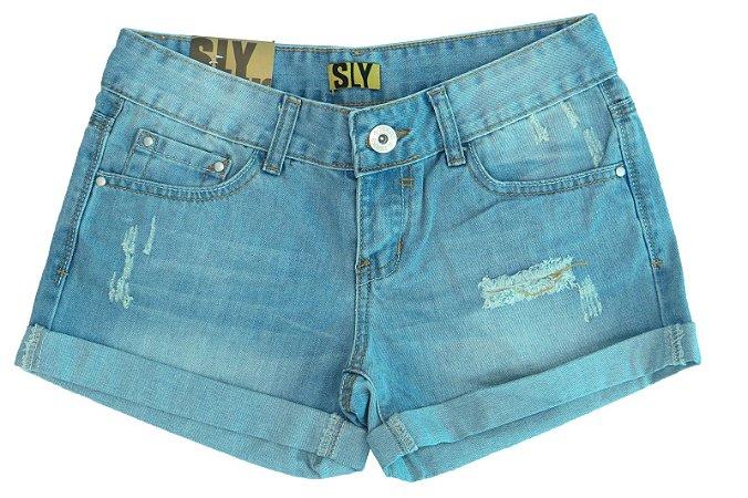 Shorts Jeans Feminino T.36