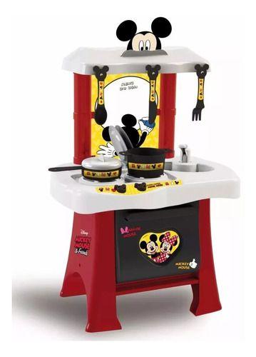 Cozinha Infantil Mickey Disney Fogão Panelinh Pia Forno