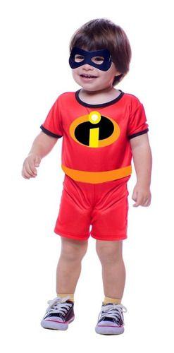 Fantasia Zezé Bebê Incrível Infantil Curta Os Incriveis