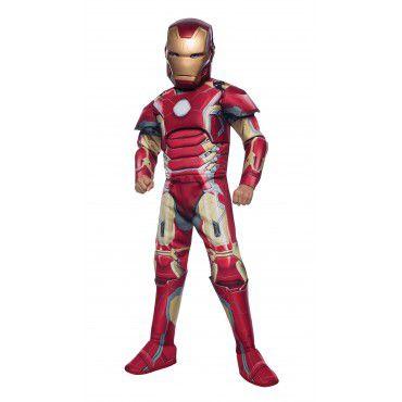 Fantasia - Homem de Ferro Deluxe (610437)