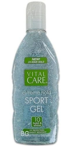 Vital Care Extreme Hold Sport Gel Fixacao 10 Hold+shine 300g