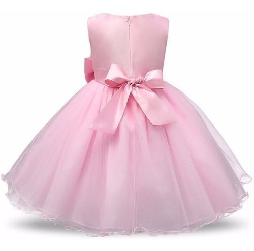 Vestido Festa Daminha Casamento Luxo Princesa Flor Infantil