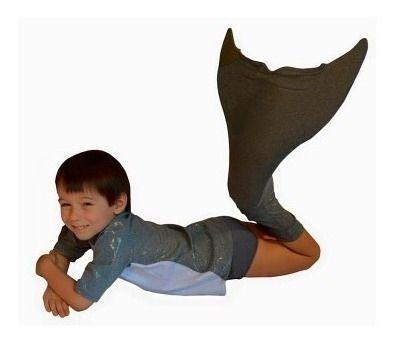 Cauda De Golfinho Nadadeira Calda Sapatinho Neoprene Peixe