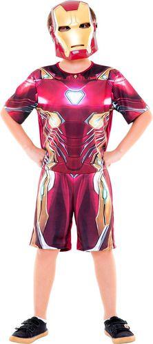 Fantasia Homem De Ferro Iron Man Curta Macacão Original