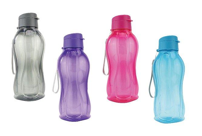 Garrafa Squeeze Plástico Fitness Água Academia Esporte 800 ml