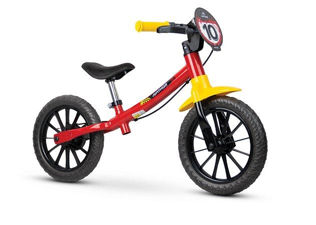 Bicicleta Infantil Balance Pre Bike Sem Pedal Aro 12 Nathor