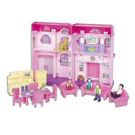 Casinha Infantil Dos Sonhos Casa Suite Crianca Menina