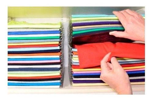 Kit Organizador de Camisetas c/10un