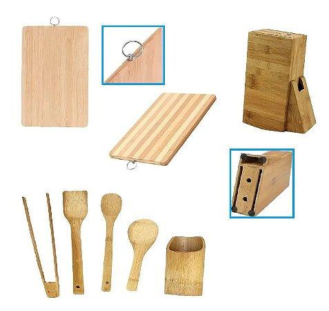 Kit Bambu 7 Peças