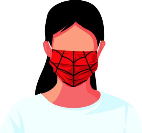 máscara tecido estampada reutilizável heróis kit 7 peças