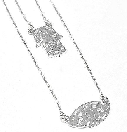 Escapulário em prata 925