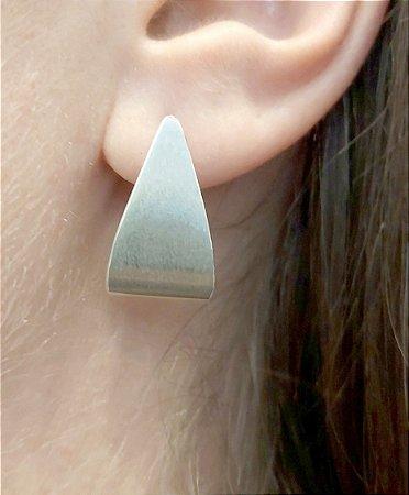 Brinco Triangulo Prata