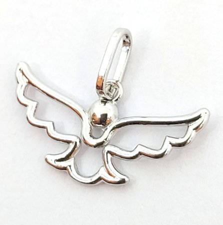 Pingente Anjo de Prata 925